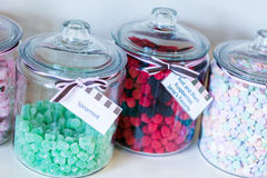 Magasin de bonbons Photographie stock libre de droits