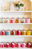 Magasin de bonbons Photo stock