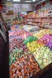 Magasin de bonbons dans Pékin Photographie stock