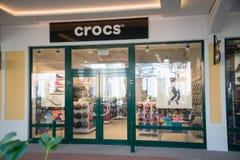 Magasin de Crocs dans Parndorf, Autriche image libre de droits
