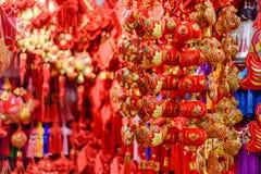Magasin de décorations de chinois traditionnel Image stock