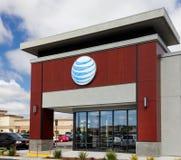 Magasin de détail d'AT&T Images libres de droits