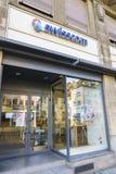 Magasin de détail de Swisscom Communications Image stock