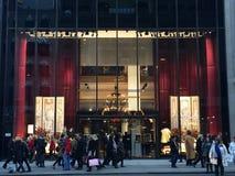 Magasin de D&G à New York Images libres de droits
