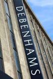 Magasin de Debenhams dans la rue d'Oxford Image libre de droits