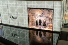 Magasin de Dior chez Emquatier, Bangkok, Thaïlande, le 25 décembre 2018 image stock