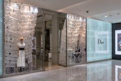Magasin de Dior chez Emquatier, Bangkok, Thaïlande, le 3 février 2019 photographie stock