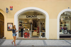 Magasin de DKNY Photos stock