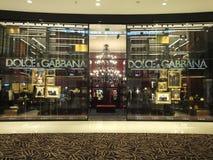 Magasin de Dolce et de Gabbana dans le mail de Dubaï, EAU Image libre de droits
