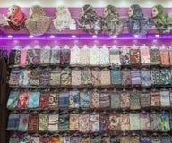 Magasin de Hijab Photos stock