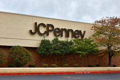 Magasin de JCPenney Photo stock
