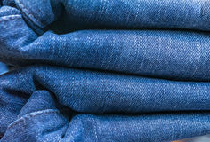 magasin de jeans Image stock