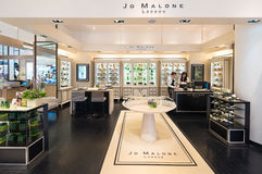 Magasin de Jo Malone Londres au centre commercial de Siam Paragon, Bangkok Photos stock