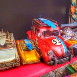 Magasin de jouets Photo stock
