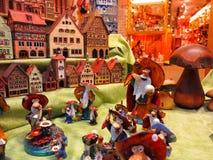 Magasin de Käthe Wohlfahrt de salle d'exposition Image libre de droits