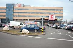 Magasin de Kaufland Photo libre de droits