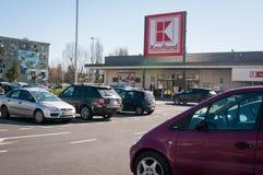 Magasin de Kaufland Photos libres de droits