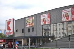 Magasin de Kaufland, supermarché Images libres de droits