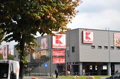 Magasin de Kaufland, supermarché Photographie stock libre de droits