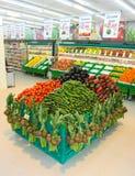 Magasin de légumes d'épicerie Photos libres de droits