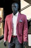 Magasin de la mode des hommes Images stock