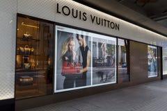 Magasin de Louis Vuitton au Japon Photos stock
