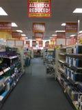 Magasin de Maplin en parc de vente au détail de Blackpool bientôt à fermer Images stock