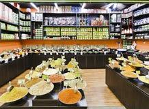 Magasin de marché d'épices Image libre de droits