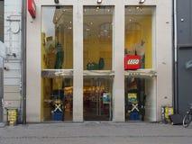 Magasin de marque de Lego Image libre de droits