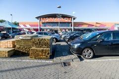 Magasin de matériel de Hornbach dans Wateringen, Pays-Bas Image libre de droits