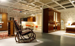Magasin de meubles Photos libres de droits