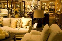 Magasin de meubles Images libres de droits