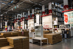 Magasin de meubles d'IKEA, Thaïlande Image libre de droits