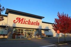 Magasin de Michaels photos libres de droits