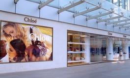 Magasin de mode de Chloe en Chine Photos libres de droits