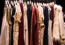Magasin de mode de femmes Photos libres de droits