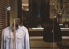 Magasin de mode de femmes Image stock