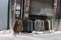 Magasin de mode de rue Image stock