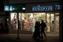 Magasin de Mothercare Images libres de droits
