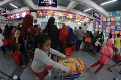 Magasin de nourriture Photographie stock libre de droits