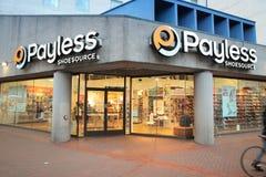 Magasin de Payless Photos libres de droits