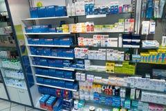 Magasin de pharmacie photos stock