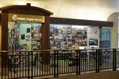 Magasin de produits de Digital Photo libre de droits