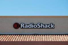 Magasin de Radioschack Photo stock