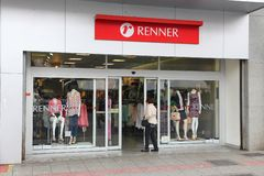 Magasin de Renner Photos stock