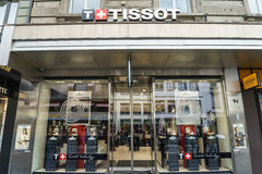 Magasin de Tissot Image stock