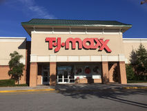 Magasin de TJ Maxx Photos stock