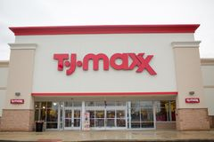Magasin de TJ-maxx, Quakertown image stock