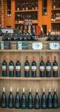 Magasin de vins et de spiritueux hongrois Images stock