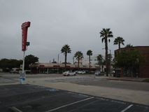 Magasin de vins et de spiritueux de région de Santa Monica Photographie stock
